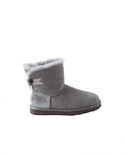 OZ0004-6防泼水 蝴蝶结雪地靴