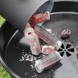 天然竹木炭烧烤碳 户外野炊环保无烟炭 耐烧家用易燃烧烤木炭